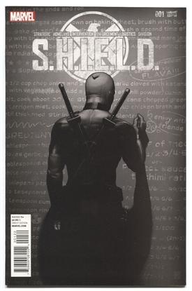 Picture of SHIELD #1 DEADPOOL SKETCH VAR