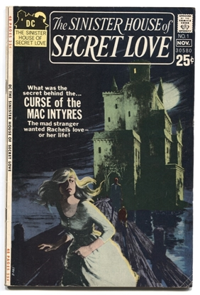 Picture of SINISTER HOUSE OF SECRET LOVE #1 6 FN OWW (1668)