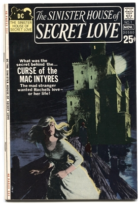 Picture of SINISTER HOUSE OF SECRET LOVE (1971) #1 7.0 FN/VF