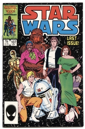 Picture of STAR WARS (1977) #107 8.5 VF+