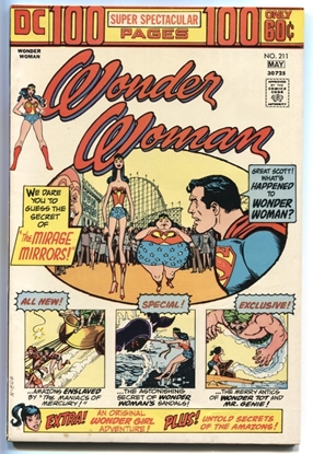 Picture of WONDER WOMAN (1942) #211 8 VF WP (2036)