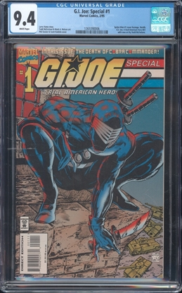 Picture of G.I. JOE SPECIAL (1995) #1 CGC 9.4 NM WP