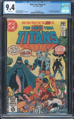 Picture of NEW TEEN TITANS (1980) #2 CGC  9.4 NM WP