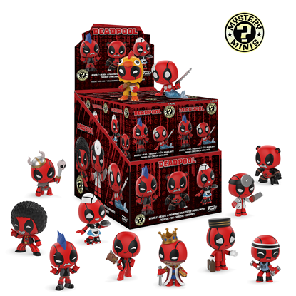 Picture of MARVEL DEADPOOL MYSTERY MINI BLIND BOX  12PC