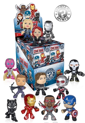 Picture of MARVEL CAPTAIN AMERICA CIVIL WAR MYSTERY MINI BLIND BOX  12PC