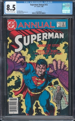 Picture of SUPERMAN (1986) ANNUAL #12 8.5 VF+