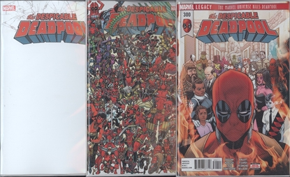 Picture of DESPICABLE DEADPOOL #300 COVER SET NM
