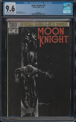 Picture of MOON KNIGHT (1980) #25 CGC 9.6 NM+ OWW