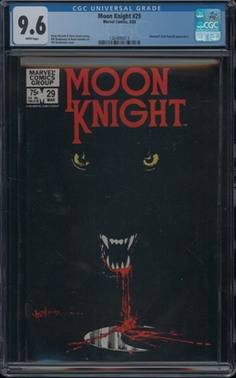 Picture of MOON KNIGHT (1980) #29 CGC 9.6 NM/MT WP