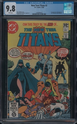 Picture of NEW TEEN TITANS (1980) #2 CGC  9.8 NM/MT WP