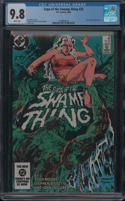 Picture of SAGA OF THE SWAMP THING (1982) #25 CGC 9.8 NM/MT WP