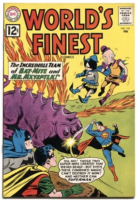 Picture of WORLD'S FINEST COMICS (1941) #123 7.5 VF- COW (2038)