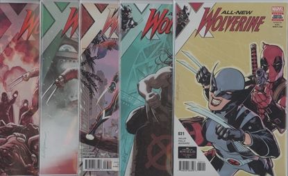Picture of ALL NEW WOLVERINE #31-35 SET NM