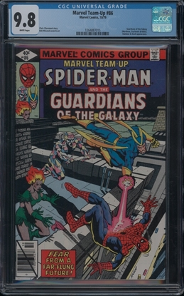 Picture of MARVEL TEAM-UP (1972) #86 9.8 NM/MT WP