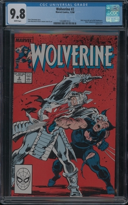 Picture of WOLVERINE (1988) #2 CGC 9.8 NM/MT WP
