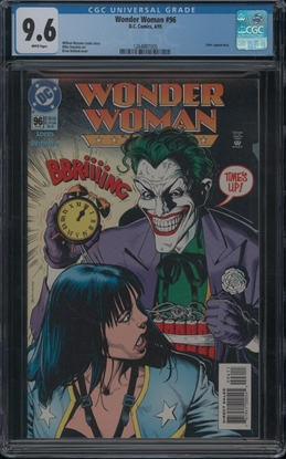 Picture of WONDER WOMAN (1987) #96 CGC 9.6 NM+ WP
