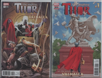 Picture of MIGHTY THOR GATES OF VALHALLA #1 CVR SET