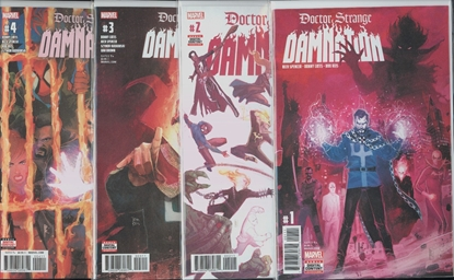 Picture of DOCTOR STRANGE DAMNATION #1-4 1ST PRINT SET NM
