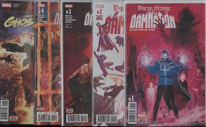 Picture of DOCTOR STRANGE DAMNATION COMPLETE 15 PART SET ALL TIE-INS