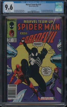 Picture of MARVEL TEAM-UP #141 CGC 9.6 NM+ WP