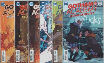 Picture of GOTHAM ACADEMY SECOND SEMESTER #1-12 1ST PRINT SET
