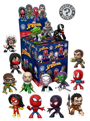 Picture of FUNKO MARVEL SPIDER-MAN MYSTERY MINI CLASSICS BLIND BOX PLUSHIE  12PC