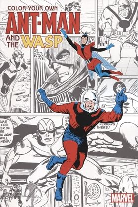 Picture of COLOR YOUR OWN ANT-MAN AND WASP TP