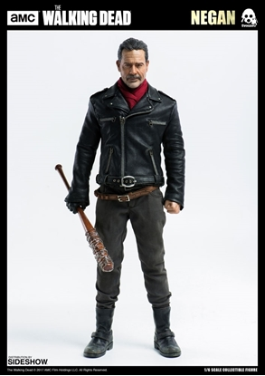 Picture of Negan Sixth Scale Figure statue the walking dead