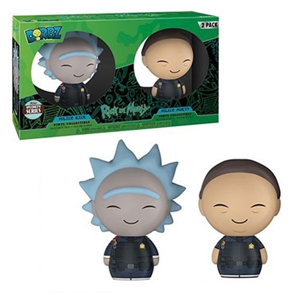 Picture of FUNKO DORBZ POLICE RICK & MORTY SPECIALTY SERIES 2PK NEW VINYL FIGURES