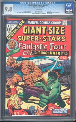 Picture of GIANT-SIZE SUPER-STARS (1974) #1 CGC 9.8 NM/MT WP
