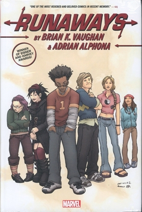 Picture of RUNAWAYS BY BRIAN K VAUGHAN & ADRIAN ALPHONA OMNIBUS HC