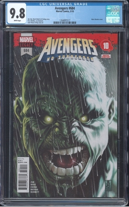 Picture of AVENGERS #684 CGC 9.8 NM/MT WP