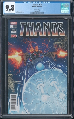 Picture of THANOS #13 CGC 9.8 NM/MT WP 3RD PRINT