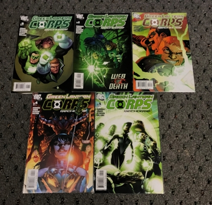 Picture of GREEN LANTERN RECHARGE # 1-5 SET VF/NM TO NM