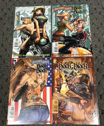 Picture of DANGER GIRL BACK IN BLACK #1 2 3 4 SET VF/VM