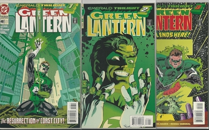 Picture of GREEN LANTERN (1990) #49 9.6 NM+