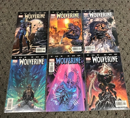 Picture of WOLVERINE THE END #1-6 1ST PRINT SET NM