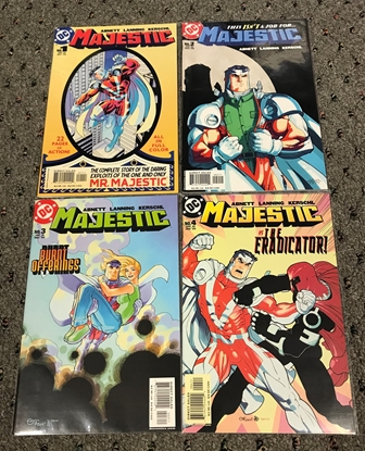Picture of MAJESTIC (2004) #1-4 1ST PRINT SET NM