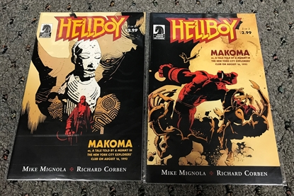 Picture of HELLBOY MAKOMA #1-2 SET VF/NM