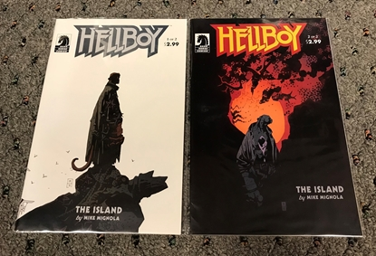 Picture of HELLBOY THE ISLAND  #1 2 SET VF/NM