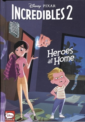 Picture of DISNEY PIXAR INCREDIBLES 2 HEROES AT HOME HC (C: 0-1-2)