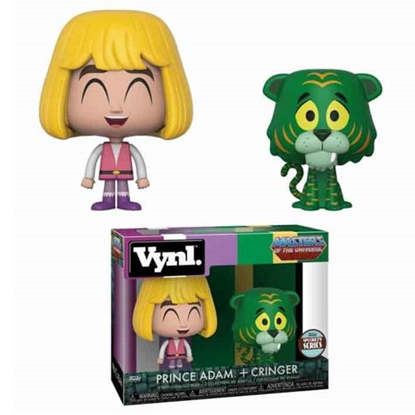 Picture of FUNKO VYNL. 2PK MASTERS OF THE UNIVERSE PRINCE ADAM + CRINGER SPECIALTY SERIES NEW