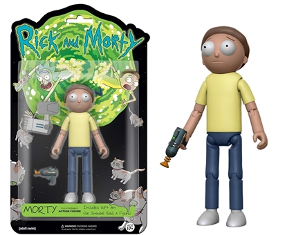 "Picture of FUNKO 5"" ARTICULATED RICK AND MORTY ACTION FIGURE- MORTY"