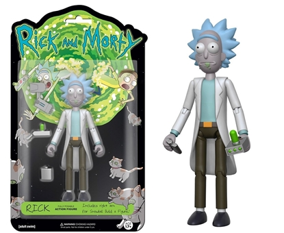 "Picture of FUNKO 5"" ARTICULATED RICK AND MORTY ACTION FIGURE- RICK"