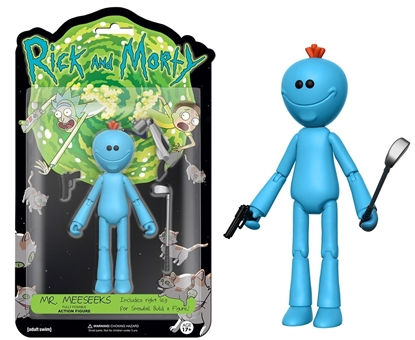 "Picture of FUNKO 5"" ARTICULATED RICK AND MORTY ACTION FIGURE- MR. MEESEEKS"