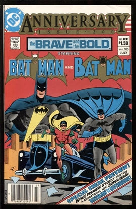 Picture of BRAVE AND THE BOLD (1955) #200 8.0 VF