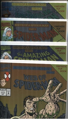 Picture of SPIDER-MAN BIRTH OF A SPIDER-MAN 4-ISSUE SET