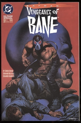 Picture of BATMAN: VENGEANCE OF BANE SPECIAL #1 9.2 NM-