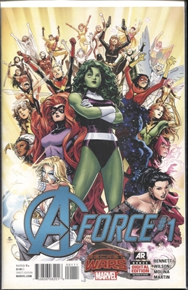 Picture of A-FORCE #1