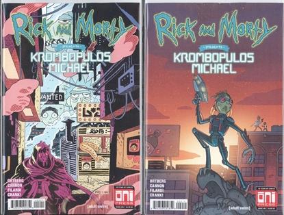 Picture of RICK & MORTY PRESENTS KROMBOPULOUS MICHAEL #1 CVR SET